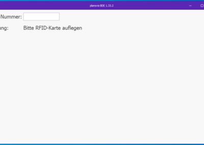 Login BDE-Client digitale Zeiterfassung