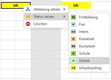 planovis Personaleinsatzplanung Status