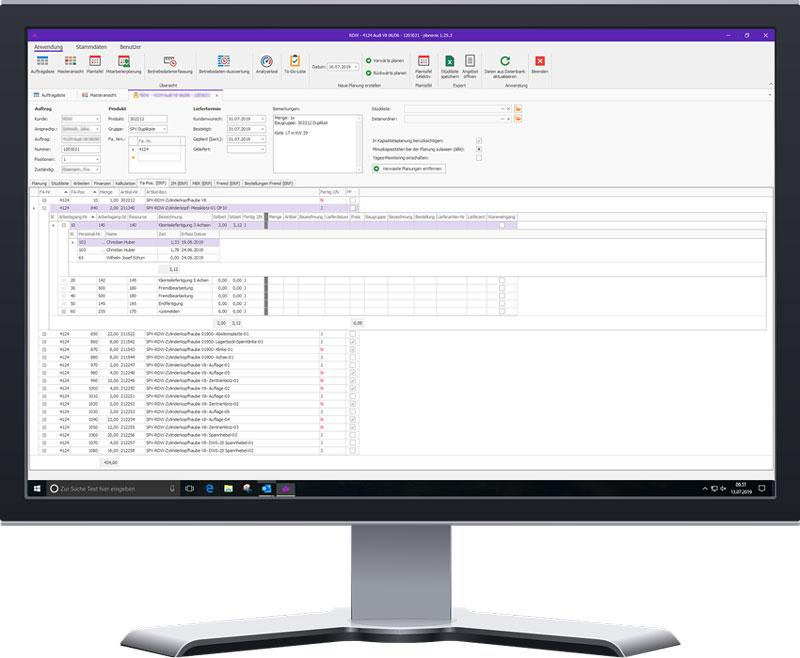 planovis Planungssystem offene ERP-Schnittstelle